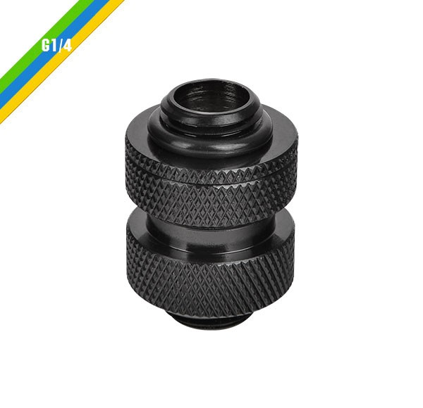 Pacific G1/4 Adjustable Fitting (20-25mm) – Black