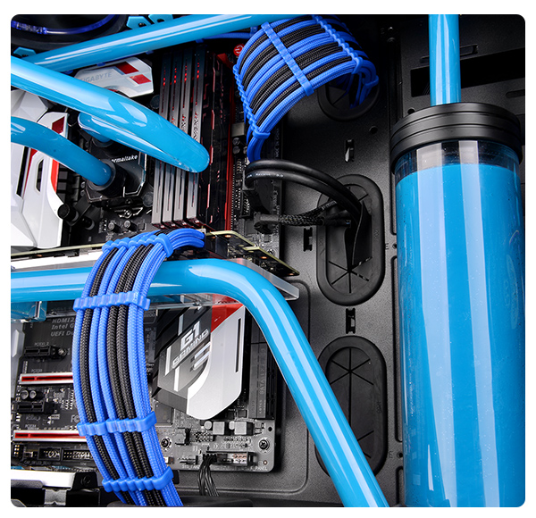 TtMod Sleeve Cable – Blue and Black | ttpremium
