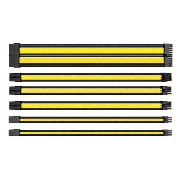 TtMod Sleeve Cable (Cable Extension) – Yellow/Black