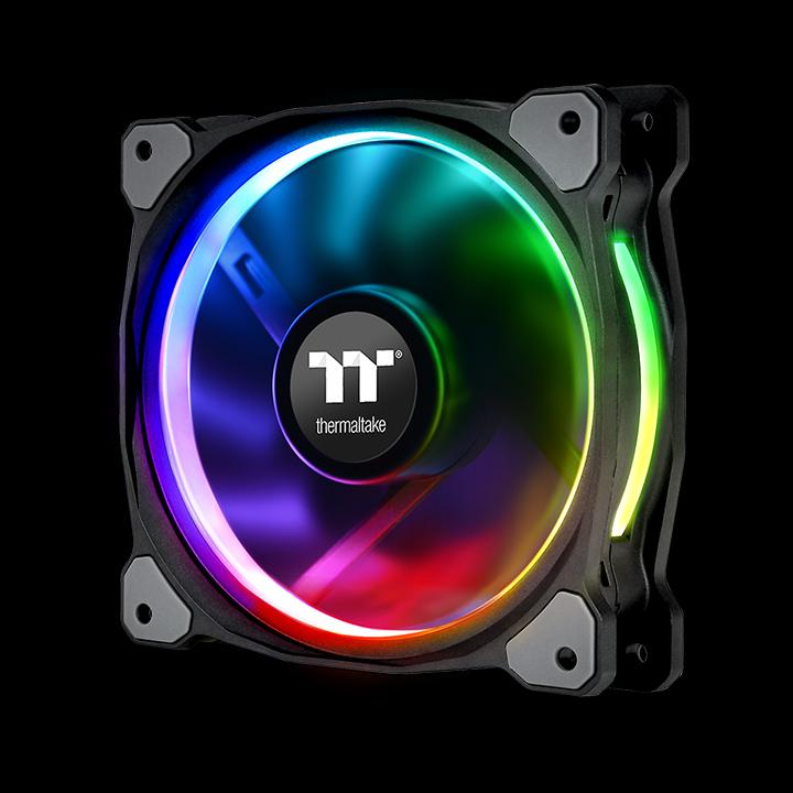 Riing Plus 12 Rgb Radiator Fan Tt Premium Edition 3 Fan