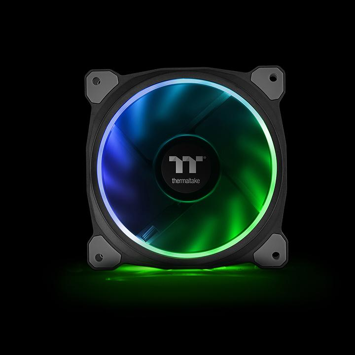 Riing Plus 14 Rgb Radiator Fan Tt Premium Edition 3 Fan