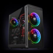 Riing Plus 20 RGB Case Fan TT Premium Edition (Single Fan Pack with Controller)