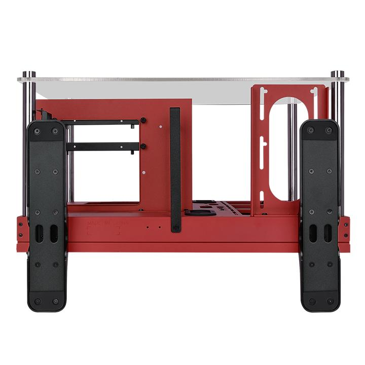 Core P3 Tempered Glass Red Edition ATX Open Frame Chassis | ttpremium