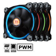 Riing 14 LED RGB 256 Colors Fan (3 Fan Pack)