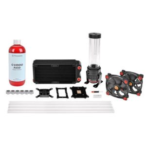 Pacific RL240 D5 Hard Tube Water Cooling Kit