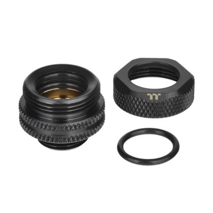 Pacific G1/4 PETG Tube 12mm OD Compression – Black