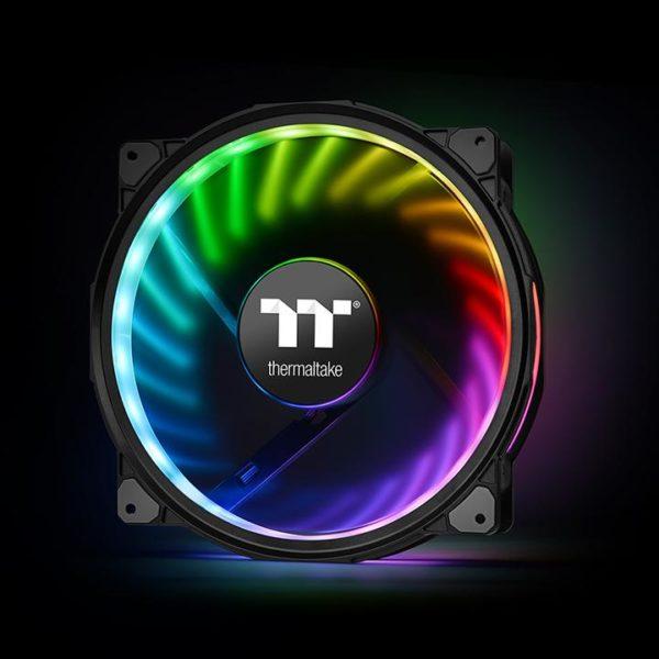 Riing Plus 20 RGB Case Fan TT Premium Edition (Single Fan Pack with Controller)